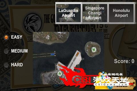 飞机降落图1