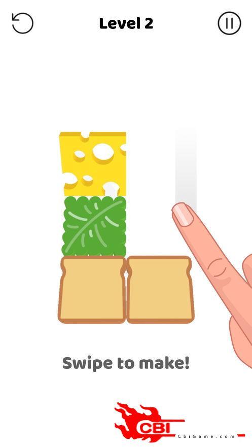 三明治制作图1