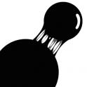 黑色粘粘球