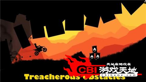 日落摩托赛车图2