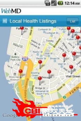 全美最大医疗网站地图图1