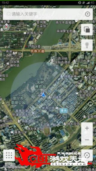 南宁电子地图虚拟地图图1