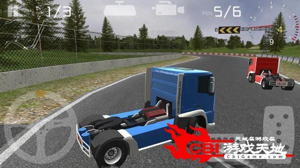 卡车驾驶3D赛车图0