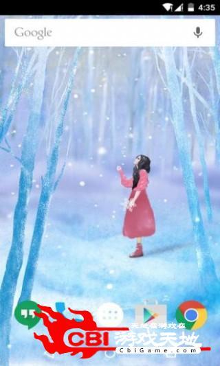 听见冬天离开梦象壁纸主题图2
