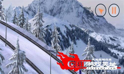 跳台滑雪图0