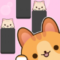 钢琴猫瓷砖