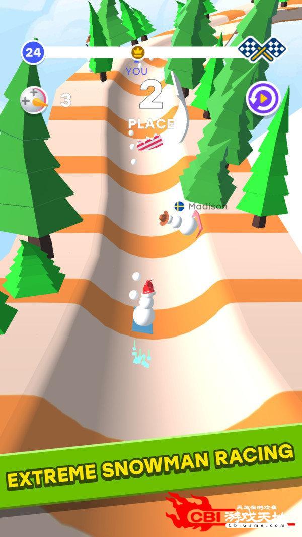 雪人竞赛3D图0