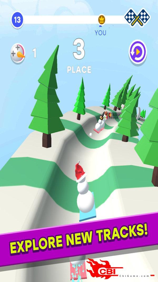 雪人竞赛3D图2