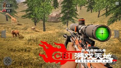 野鹿狩猎丛林射手图0