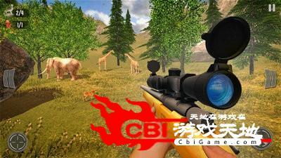 野鹿狩猎丛林射手图2