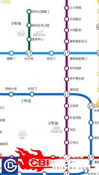 北京地铁地图高清图0