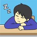 小皮又在睡觉