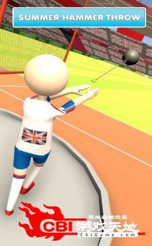 夏季田径赛事3D图2