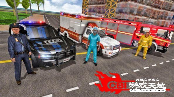 消防队救援行动图0