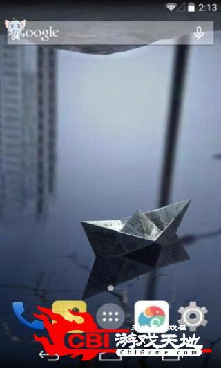3D城市倒影梦象壁纸3D图1