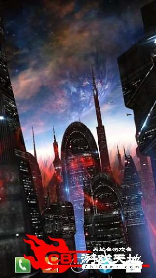 太空之城动态壁纸动态图1