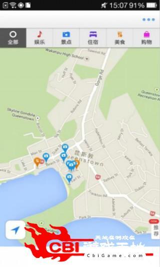皇后镇离线地图旅游图1