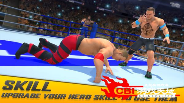 明星摔跤赛图3