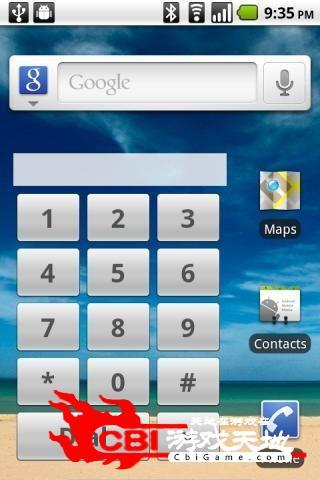 快速拨号部件桌面图0