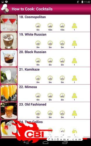 鸡尾酒烹饪图1