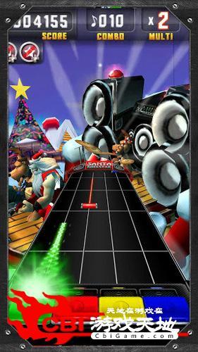 圣诞老人摇滚明星图1
