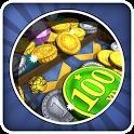 淘金硬币瀑布