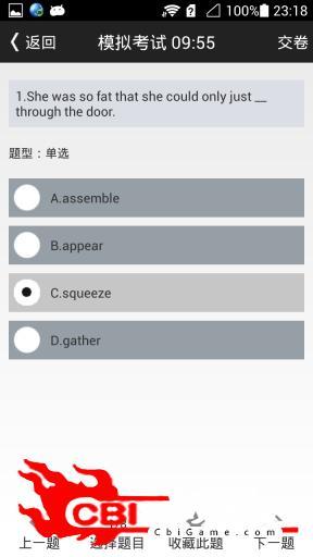 英语四级单选助手图2