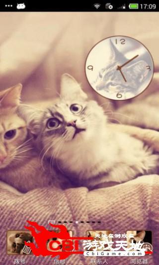 可爱猫咪-桌面主题优化图0