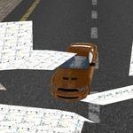 街道破坏肌肉车
